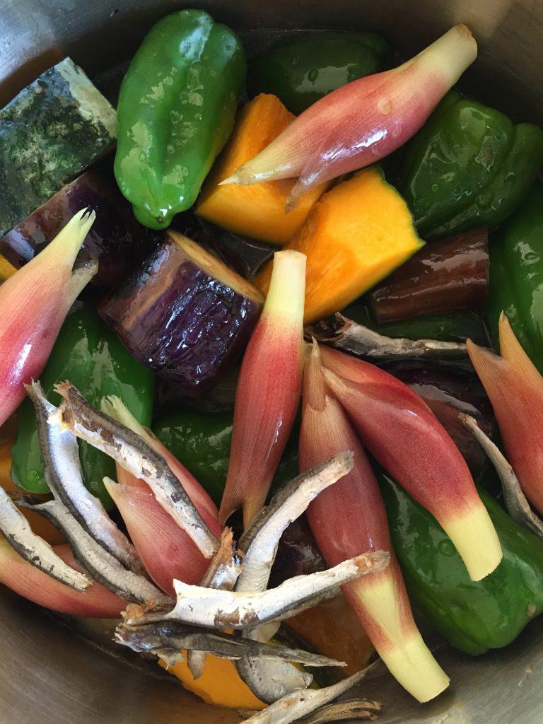 土井善晴先生が考案された夏野菜のごろっと煮