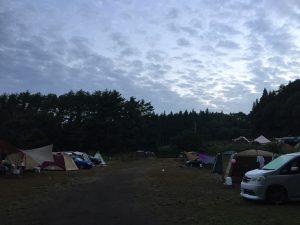 皇海山キャンプフォレスト 星空サイトフリー