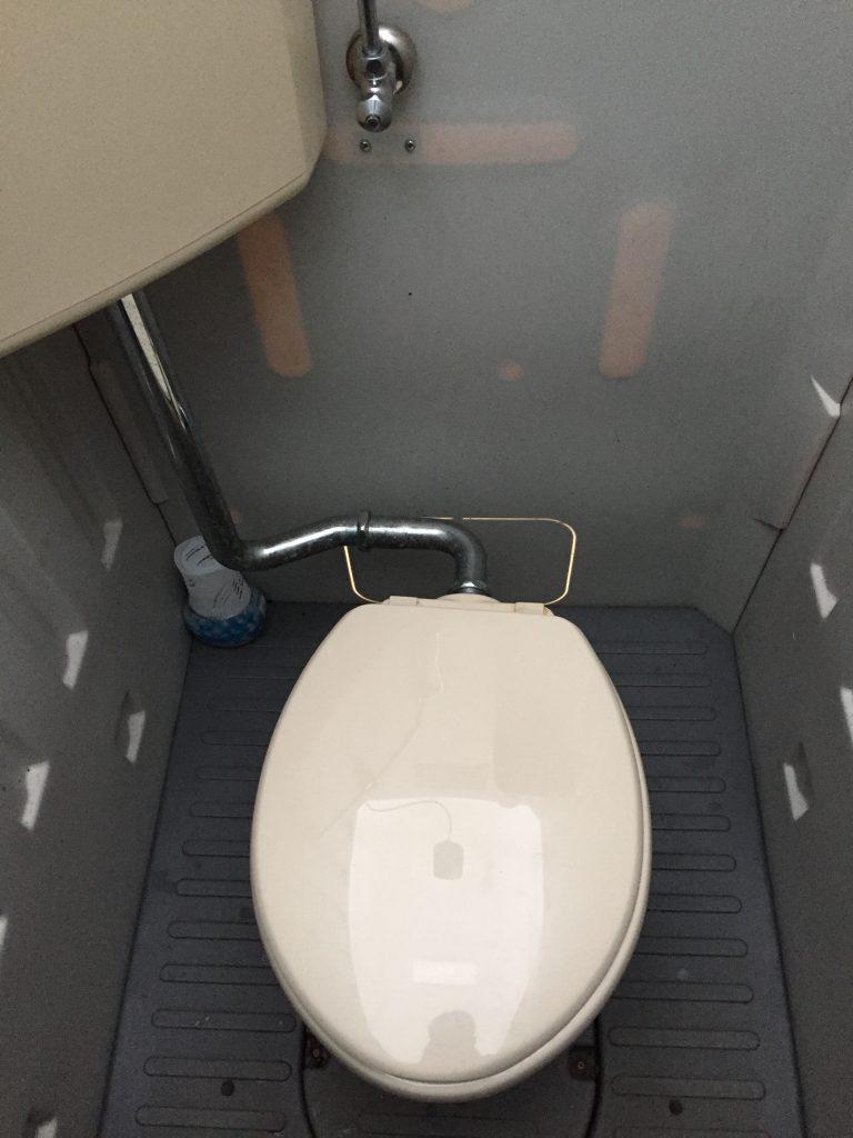 都留戸沢の森 和みの里キャンプ場 トイレ