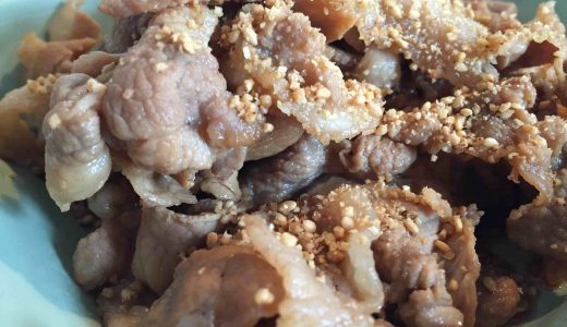 豚バラ肉の照り煮|土井善晴先生の家庭料理レシピ