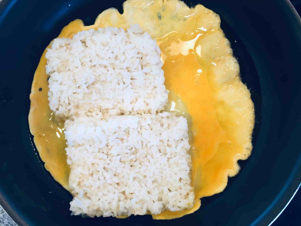 しらすの焼き飯(チャーハン) 卵