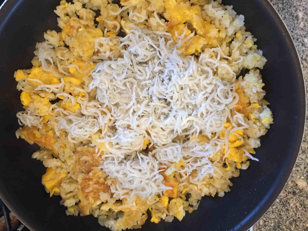 しらすの焼き飯(チャーハン)