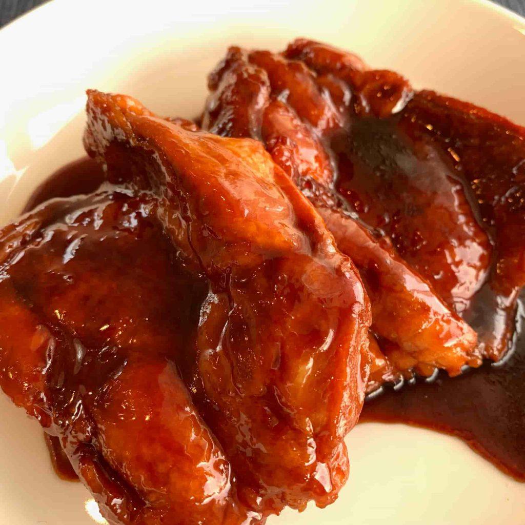鶏肉(鶏もも肉)の照り焼き