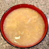 長芋の味噌汁(みそ汁)