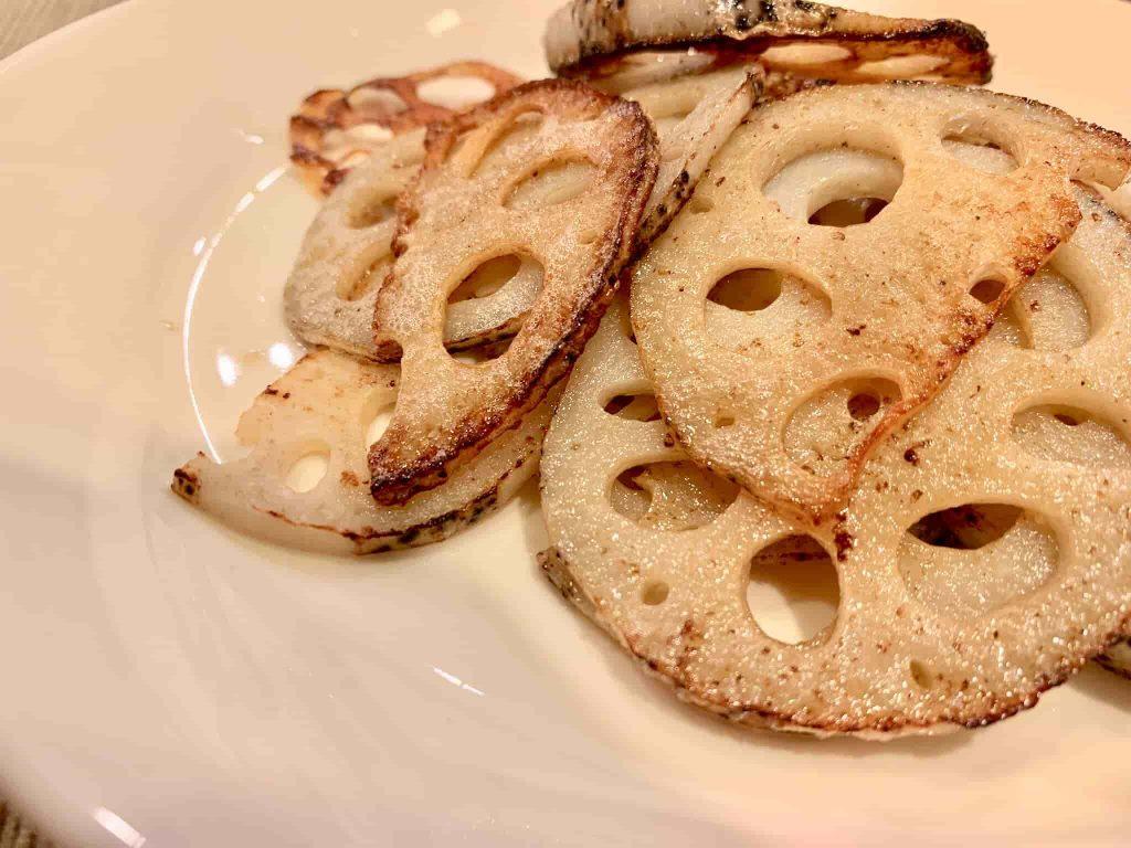 れんこんのバター焼き アイキャッチ