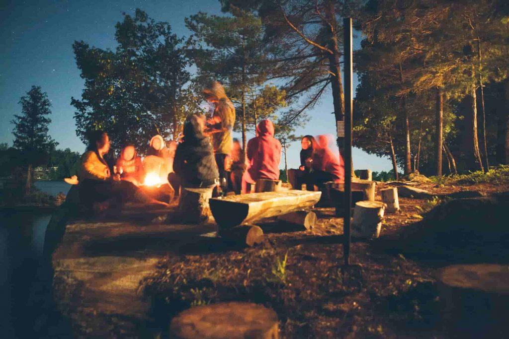 ファミリーキャンプの始め方 グループキャンプ