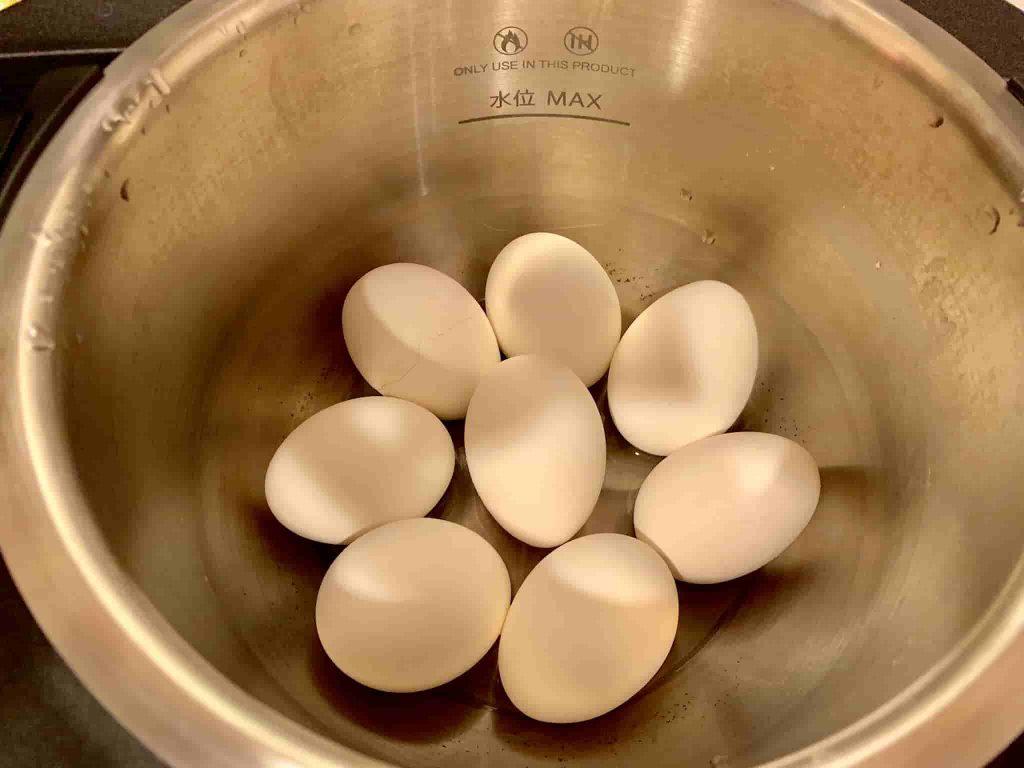 ゆで卵 完成