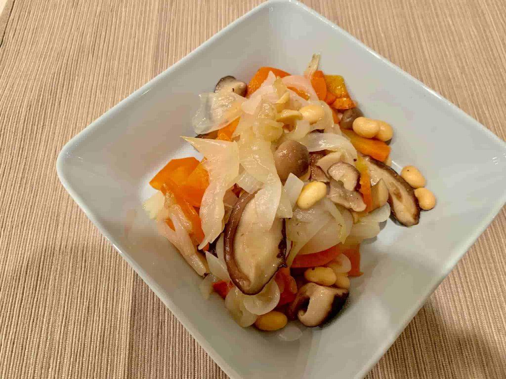 勝間流 たっぷり野菜の蒸し煮(ブレイズ)