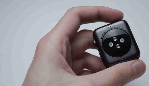 Apple Watchをはめる手首に再びあせも(?)ができてしまったので対策を考えました