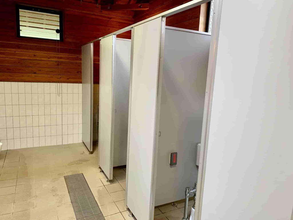 うるぎ星の森オートキャンプ場 トイレ