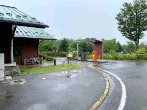 うるぎ星の森オートキャンプ場 出入口