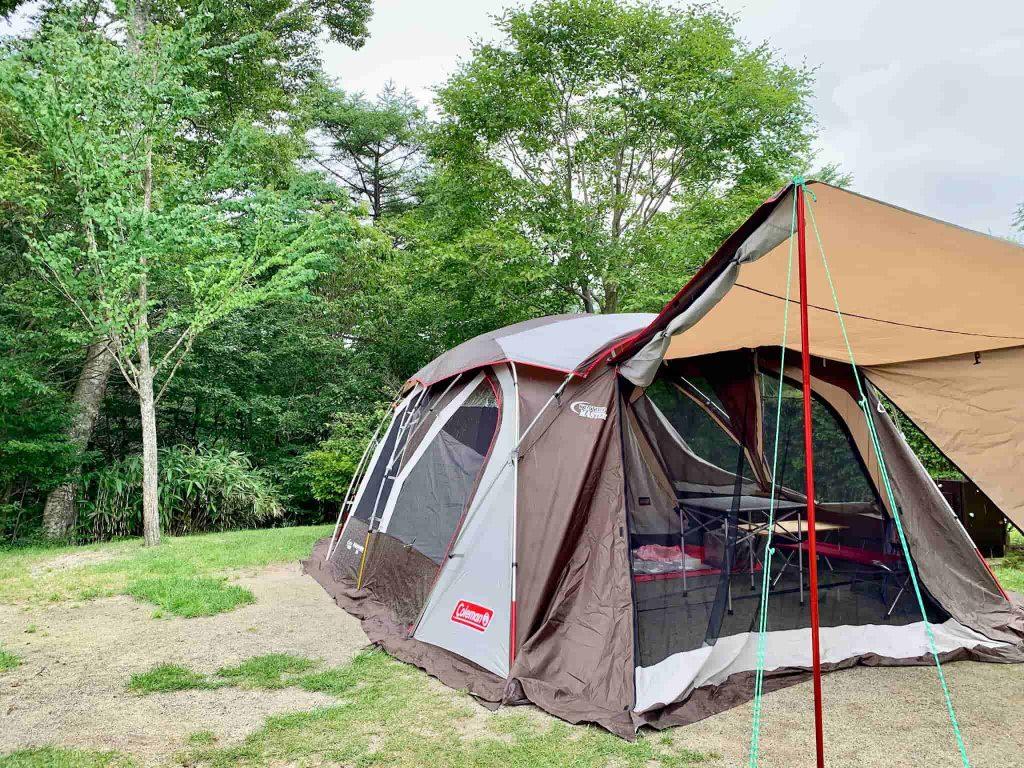 うるぎ星の森オートキャンプ場 ウェザーマスター(R)ワイド2ルーム コクーンⅡ