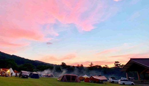 またまた斑尾高原キャンピングパーク(長野県)へファミリーキャンプに行ってきました