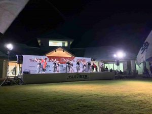 キャンプ世界大会ダンスナイト