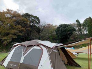 東京ドイツ村ジージの森ファミリーキャンプ コクーンII