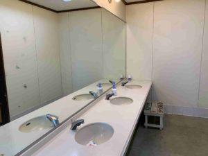 東京ドイツ村ジージの森ファミリーキャンプ トイレ
