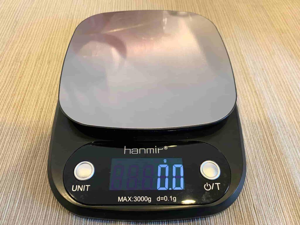 hanmirのデジタルクッキングスケール