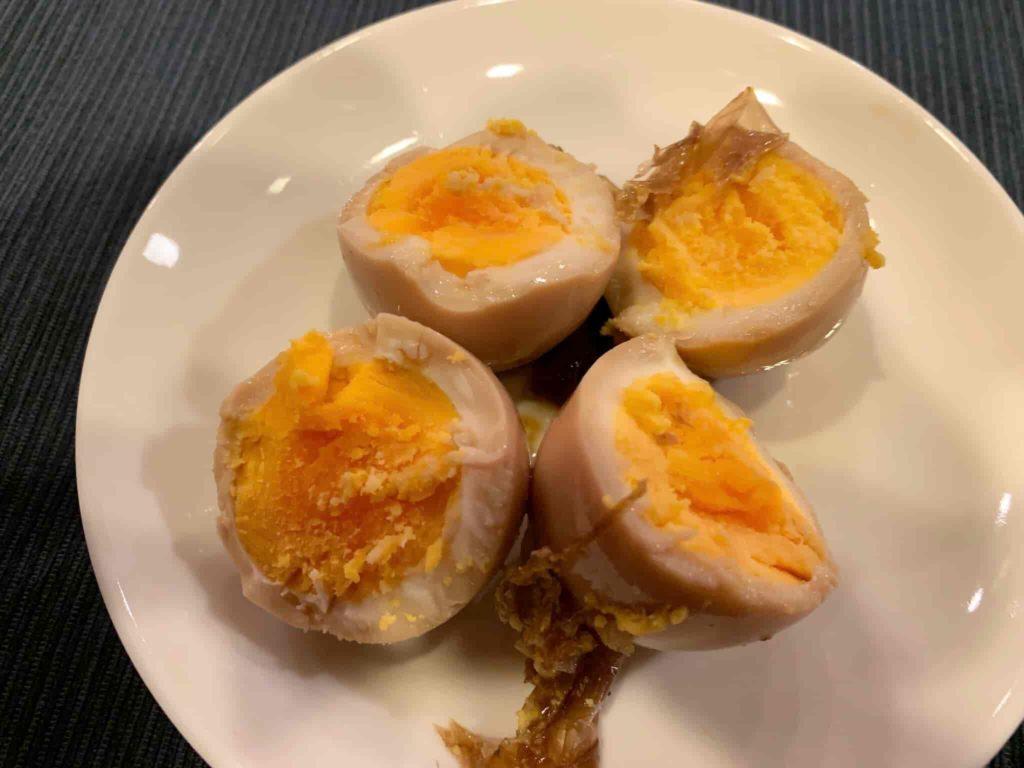 土井善晴先生の煮卵