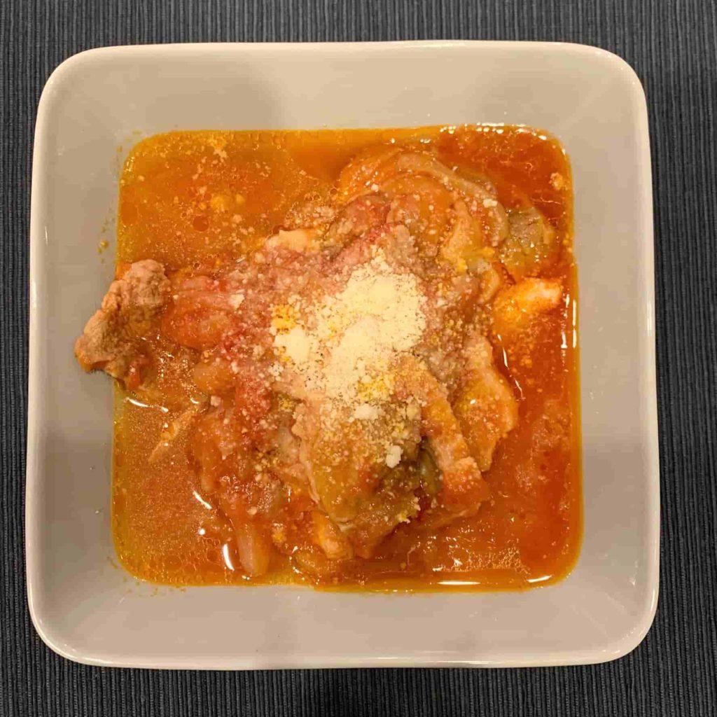 ホットクック 豚肉のトマト煮こみ