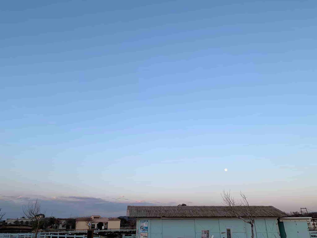 ソレイユの丘 オートキャンプ場 満月