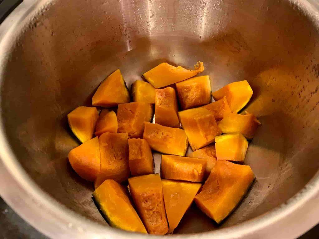 ホットクック かぼちゃの煮物