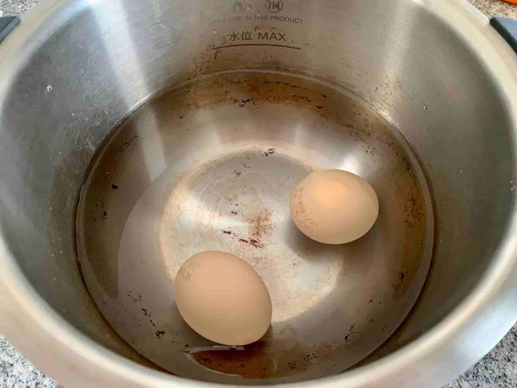 ホットクック 温泉卵