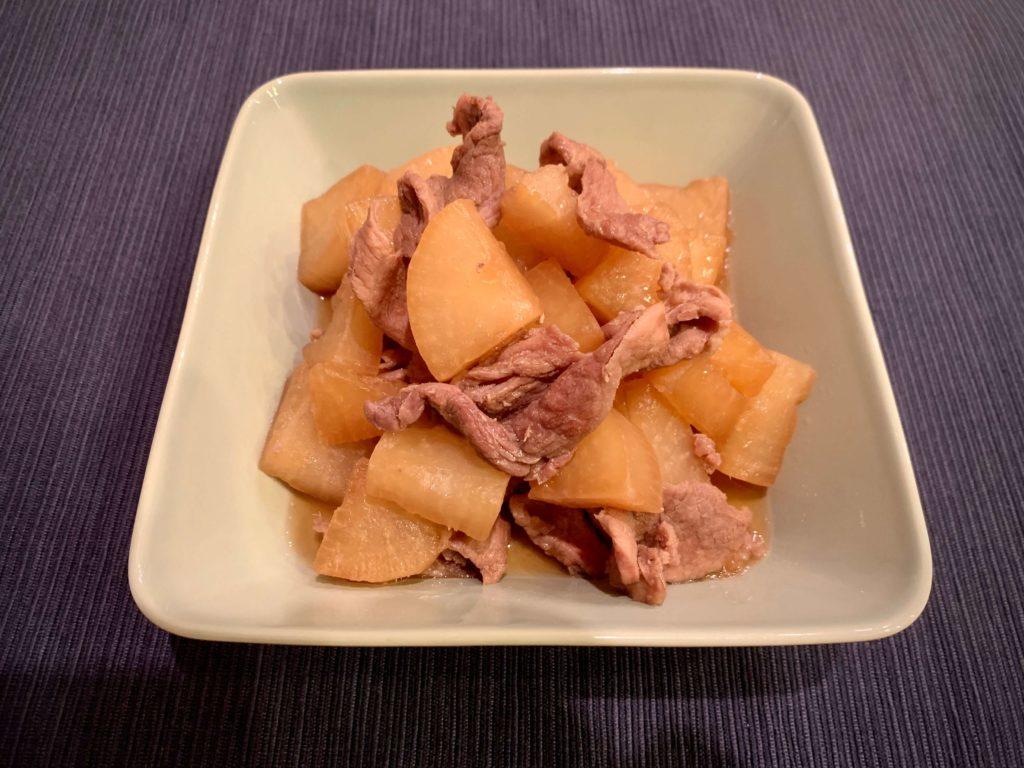 ホットクック 豚バラ大根