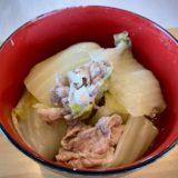 ホットクック 白菜と豚バラ肉の重ね煮