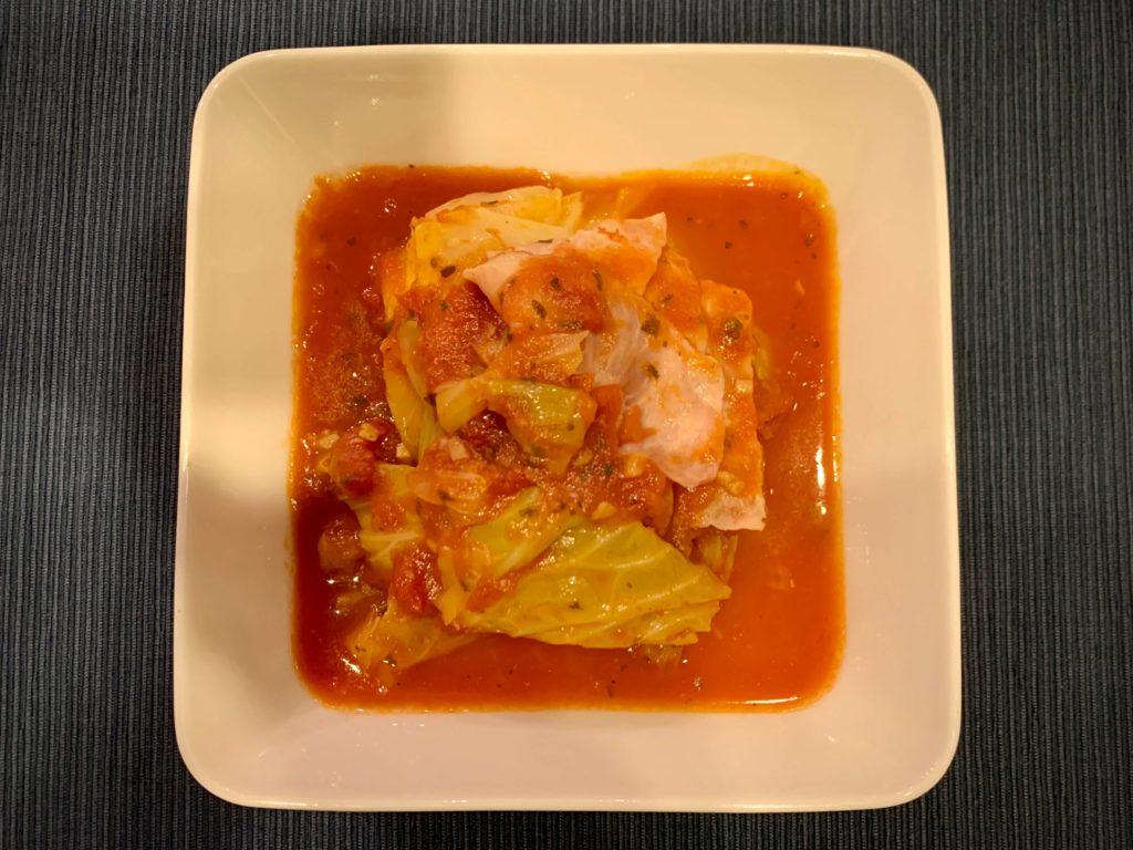 ホットクック キャベツの丸ごとスープ煮