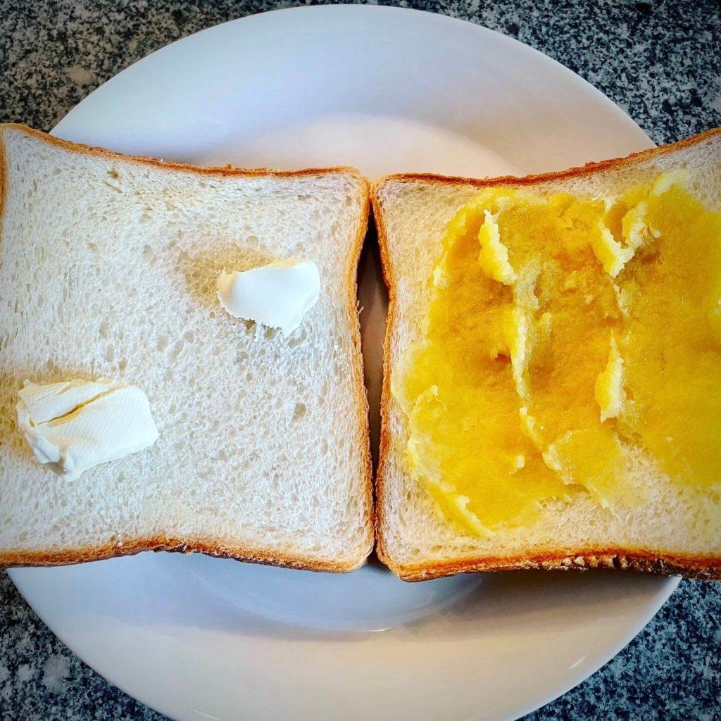 ホットサンド いもあんバター クリームチーズ