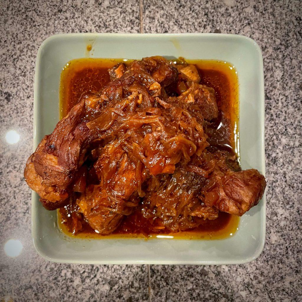 ホットクック(KN-HW16D) スペアリブの煮こみ