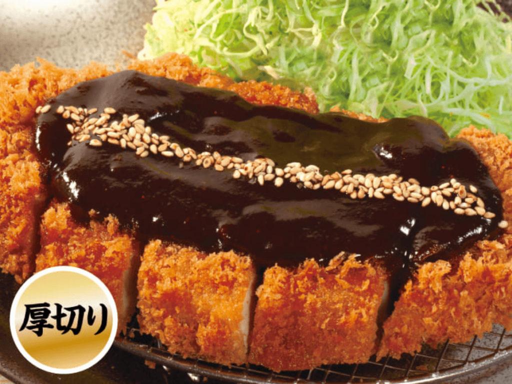 松のや 味噌ロースカツ定食