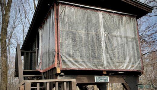 北軽井沢スウィートグラス ツリーハウス・フォレストに行ってきました。