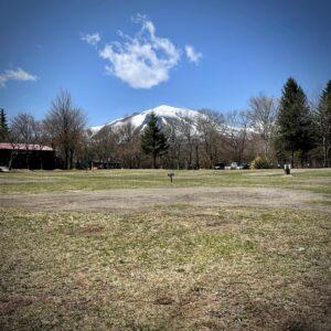 北軽井沢スウィートグラス 冬 浅間山