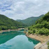 四万湖 ダム キャンプ